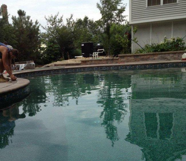 salem Nh pool filled