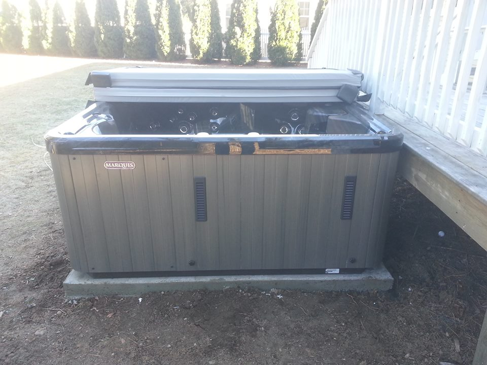 What Type of Base Do You Need For a Hot Tub?   Spa Installation
