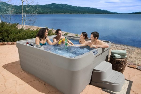 110V plug and play portable and affordable hot tub