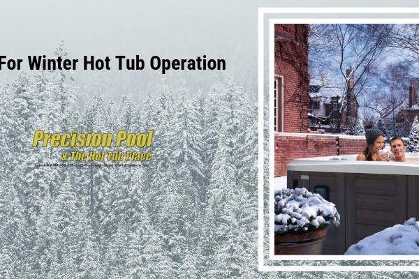tips for winter hot tub operation